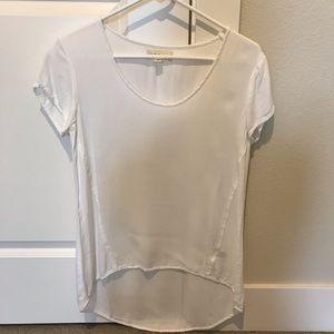 Cloth and Stone Anthropologie white blouse